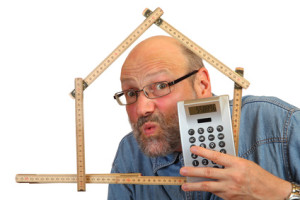 Beim Hausbau verkalkuliert, Baufinanzierung